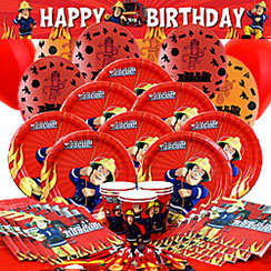 Fireman Sam Party Pack - Deluxe SAVE 10%