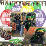 Ninjago Party Pack - Deluxe Pack for 16
