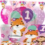 One is Fun Pink Party Pack - Deluxe Pack for 8