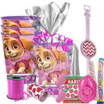 Pink Paw Patrol Gift Cup Kit  for 4