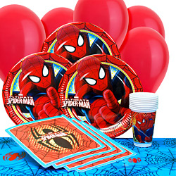 Spider-Man Party Pack - Value SAVE 20%