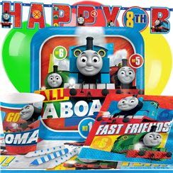 Thomas The Tank Engine Party Pack - Deluxe Pack for 8