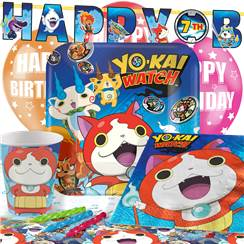 Yo-Kai Watch Party Pack - Deluxe Pack for 8