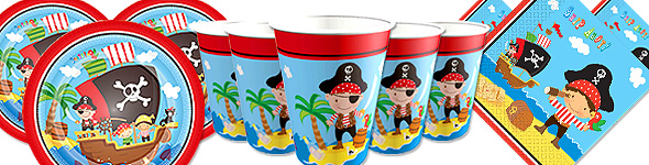 Pirate Party Kit for 8