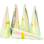 Holographic Iridescent Cone Party Poppers