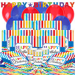 Birthday Brights Party Pack - Deluxe Pack for 16