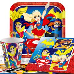 DC Superhero Girls Party Pack - Value Pack for 8