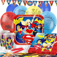 DC Superhero Girls Party Pack - Deluxe Pack for 16