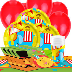 Fisher Price Circus Party Pack - Value Pack for 8