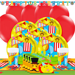 Fisher Price Circus Party Pack - Deluxe Pack for 8