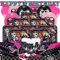 Monster High Party Pack - Deluxe Pack for 16