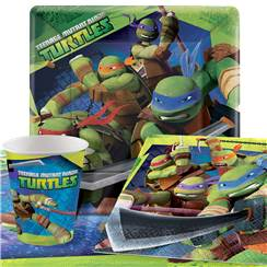 Ninja Turtles Party Pack - Value Pack for 8