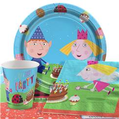 Ben & Holly Party Pack - Value Pack for 8
