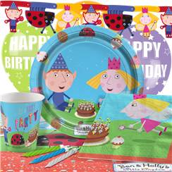 Ben & Holly Party Pack - Deluxe Pack for 8