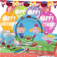 Ben & Holly Party Pack - Deluxe Pack for 16