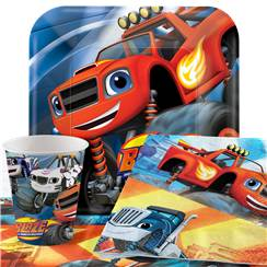 Blaze and the Monster Machines Party Pack - Value Pack for 8