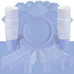 Baby Blue Party Pack<br /> <STRONG>SAVE 20%</STRONG><BR/>57p Per Person