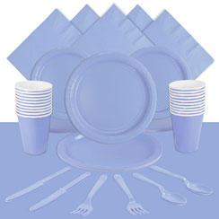 Baby Blue Party Pack For 20 People