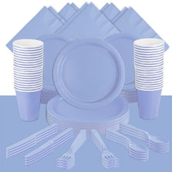 Baby Blue Party Pack<br /> <STRONG>SAVE 15%</STRONG><BR/>73p Per Person