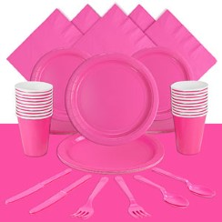 Hot Pink Party Pack<br /> <STRONG>SAVE 10%</STRONG><BR/>78p Per Person