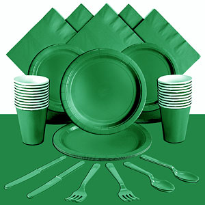Green Party Pack<br> <STRONG>SAVE 10%</STRONG><BR>78p Per Person