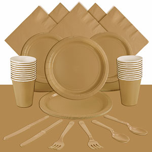 Gold Party Pack<br /> <STRONG>SAVE 10%</STRONG><BR/>78p Per Person