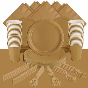 Gold Party Pack<br /> <STRONG>SAVE 15%</STRONG><BR/>73p Per Person