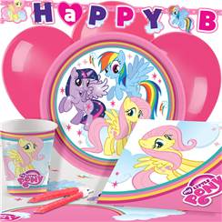 My Little Pony Party Pack - Deluxe Pack for 8