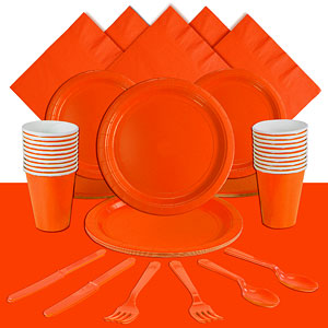 Orange Party Pack<br /> <STRONG>SAVE 10%</STRONG><BR/>78p Per Person