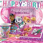 Pink Paw Patrol Party Pack - Deluxe Pack for 8