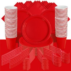 Red Party Pack<br /> <STRONG>SAVE 20%</STRONG><BR/>57p Per Person