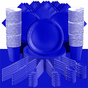 Royal Blue Party Pack<br /> <STRONG>SAVE 20%</STRONG><BR/>57p Per Person