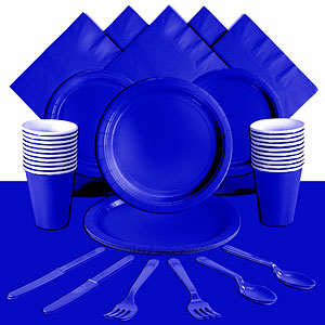 Royal Blue Party Pack<br /> <STRONG>SAVE 10%</STRONG><BR/>78p Per Person