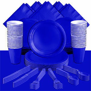 Royal Blue Party Pack<br /> <STRONG>SAVE 15%</STRONG><BR/>73p Per Person