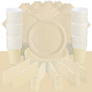 Ivory Party Pack<br /> <STRONG>SAVE 20%</STRONG><BR/>57p Per Person