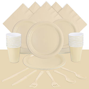 Ivory Party Pack<br /> <STRONG>SAVE 10%</STRONG><BR/>78p Per Person