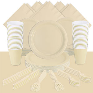 Ivory Party Pack<br /> <STRONG>SAVE 15%</STRONG><BR/>73p Per Person