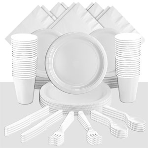 White Party Pack<br /> <STRONG>SAVE 15%</STRONG><BR/>73p Per Person