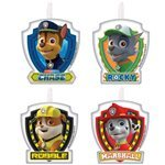 Paw Patrol Cake Candles