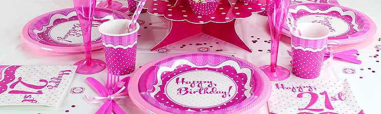 Perfectly Pink 21st Birthday Party & Perfectly Pink Party - 21st Birthday Party | Woodies Party