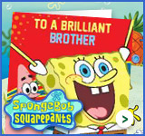 Spongebob - Brother Cards