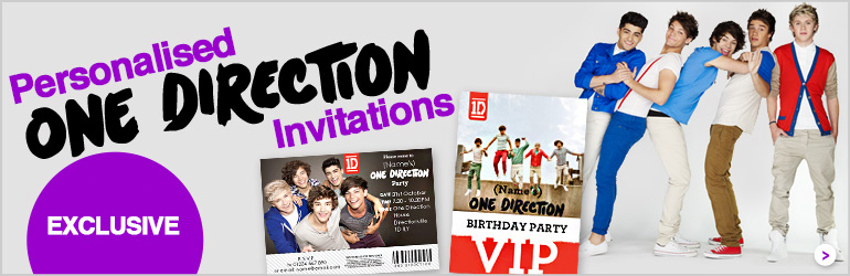 One Direction Invites