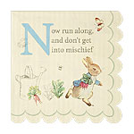 Peter Rabbit Beverage Napkins - 3ply Paper