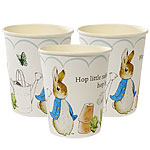 Peter Rabbit Cups - 260ml Paper Party Cups