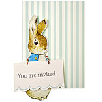Peter Rabbit Invites - Party Invitation Cards