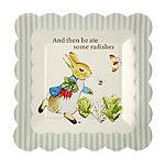Peter Rabbit Plates - 19cm Paper Party Plates