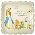Peter Rabbit Plates - 23cm Paper Party Plates