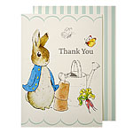 Peter Rabbit Thank You's - Party Thank You Cards