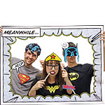 DC Comics Photo Booth Kit