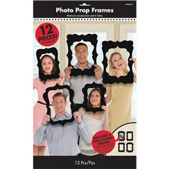 Photo Booth Black Frame Props